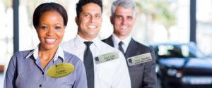 Executive-name-badges